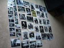 Lot of 51 of Old Time Pool/Billiards Players Photographs