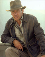 Indiana Jones Harrison Ford Classic Distressed Real Leather Jacket