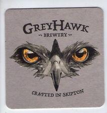 UNUSED BEERMAT -  GREYHAWK BREWERY - (Cat 001) - (2015)