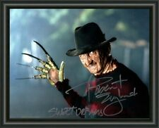 Robert Englund -Freddy Krueger - SIGNED - AUTOGRAPHED PHOTO POSTER FREE POST
