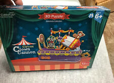 CubicFun 3D Puzzle K1303H Circus,Clown Cannon,Hand Shake Jigsaws,52 Pieces