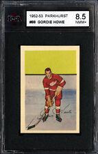 1952-53 PARKHURST #88 GORDIE HOWE HALL OF FAME DETROIT RED WINGS KSA 8.5 NM-MT+