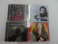Lot of 4: 90's Pop - Kelly Clarkson / Daughtry / Clay Aiken - music CDs Tested!