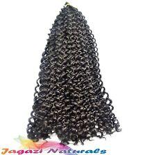 UK: Colour 1 Cherish WATER WAVE Bulk (Braid, Crochet or PicK & Drop) Afro coils
