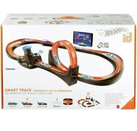 Hot Wheels id Smart Track Starter Kit with 3 Exclusive Cars Track Pieces NEW