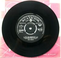 "Near Mint! Elvis Presley A LITTLE LESS CONVERSATION RCA 1768 7"" VINYL 45 NM EX+"