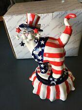 """Yankee Doodle Kitty"" Music Box - annaco creations Co. #718 of 10,000 -Nib"
