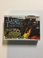 A Game of Thrones: Ice and Fire Premium Starter Set  SEALED AGOT