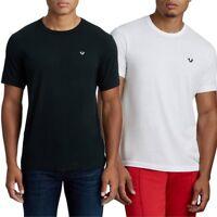 True Religion Men's Essentials Embroidered Horseshoe Logo Crew Neck Tee T-Shirt