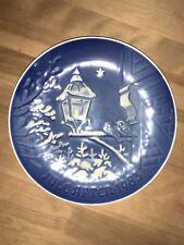 Royal Copenhagen Porcelain Christmas Plate. 1983