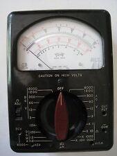 Vintage Triplett Multimeter Type 2 Model 630-A w/ Instruction Manual
