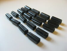 Lego TECHNIC Axle Joiner Inline Smooth (#6538) Black lot of 20 pcs