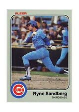1983 Fleer Ryne Sandberg Chicago Cubs #507 Baseball Card