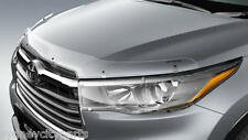 TOYOTA KLUGER BONNET PROTECTOR CLEAR GSU5# FROM DEC 2013> GENUINE ACCESSORY