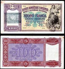 More details for albania, banka kombetare,100 franga, o10 0416 (1945) (wpm 14)