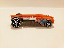 Hotwheels Buzz Bomb Toy Diecast Vehicle Orange Silver