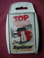 Top Trumps Top Gear Cool Cars card game 2005 32 play cards X3 inserts VFN