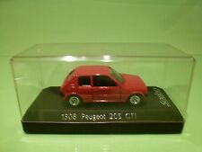 SOLIDO 1508 PEUGEOT 205 GTI - RED 1:43 - EXCELLENT IN BOX