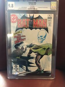 Batman #345 CGC 9.8 White Pages 1st Appearance Doctor Death