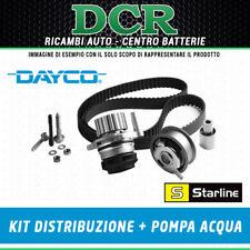 KIT DISTRIBUZIONE + POMPA ALFA ROMEO FIAT LANCIA 1.9 JTD/JTDM/MTJ KTB317 VPFI143