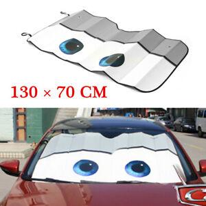 Gray Auto Car Front Window Foldable Visor Sun Shade Windshield Cover Block New