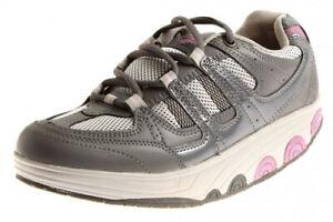 Activ Sneaker mit Rundsohle Damenschuhe Halbschuhe Gesundheit Roll Wechselfußbet