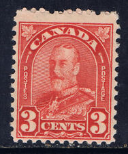 Canada #167(3) 1931 3 cent deep red George Arch/Leaf V MNH CV$10.00