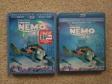 Finding Nemo Three Disc Collector's Edition Bluray/Dvd w slipcover. Disney.