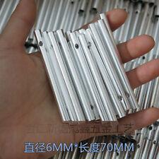 10pcs Aluminum Tube 70x6mm for DIY Make Wind Chime Windchime Kids Craft