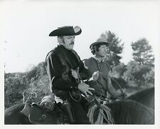 JOHN ASTIN ON HORSE EVIL ROY SLADE ORIGINAL 1971 NBC TV PHOTO