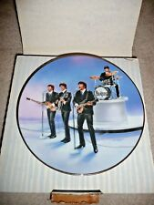 THE BEATLES Collection 1991 LIVE IN CONCERT ~ First Plate 22kt Gold Rim in BOX