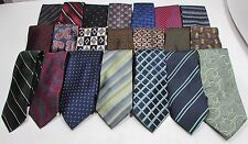 NEW Mens Wholesale Lot of 50 Silk & Other Name Brand Varied Style Necktie Ties