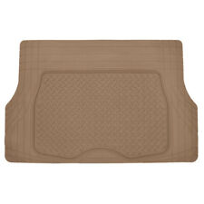 Beige Odorless Medium Cargo Tray Ridged Trunk Mat Liner Waterproof & BPA Free