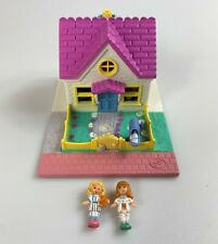 Polly Pocket Pollyville Cozy Cottage Vintage Playset Complete 1993 Bluebird 90s