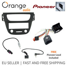 Renault Megane III Fitting kit & Steering Wheel Adaptor CTSRN006.2 Pioneer lead