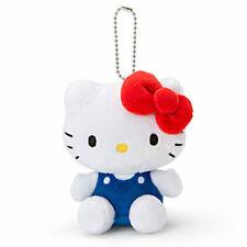 SANRIO HELLO KITTY SITTING MODEL PLUSH DOLL KEY CHAIN RING (CLASSIC) 831026N