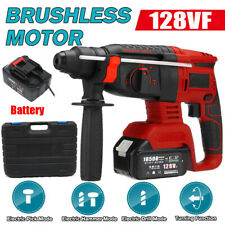 Electric Sds Cordless Brushless Rotary Hammer Drill Perforator Rechargeablecase