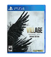 Resident Evil Village Deluxe Edition PS5 Sony PlayStation 5 *NEW* IN STOCK NOW