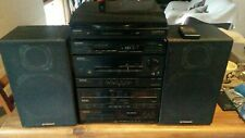 Vintage Pioneer Hi-Fi Stereo System - record, cassette, radio & CD player. Japan