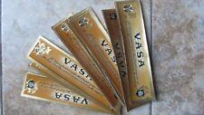 46 Nice Colorful Vintage VASA CIGAR BOX LABELS, Advertising Tobacco, c1930, GIFT