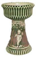 Roseville Pottery Donatello Pedestal Vase