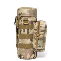 Nylon Pouch Waist Carrier Bag Tactical Molle Water Bottle Bag Holder Carry Hike
