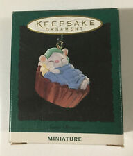 Hallmark Keepsake Miniature Ornament Sweet Dreams Handcrafted Copyright 1994