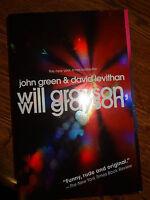 David Levithan Firmado Autografiado Will Grayson, Will Grayson John Green