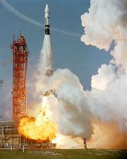 LAUNCH OF AGENA TARGET VEHICLE FOR THE GEMINI 8 MISSION 8X10 NASA PHOTO (EP-845)