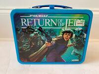 STAR WARS THERMOS RETURN OF THE JEDI LUNCHBOX VINTAGE 1983 C9.5/10 W/ORG RECEIPT