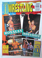 SUPERSTARS OF WRESTLING MAGAZINE ISSUE 26 /PRE POWER SLAM /1992/ONITA POSTER