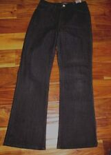 NYDJ NOT YOUR DAUGHTERS JEANS SZ 8P X 29 BLACK BOOT CUT P2800600 BEADED POCKETS