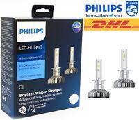 PHILIPS H1 X-tremeUltinon LED Car Headlight Bulbs 6500K White +200% 11258XUX2