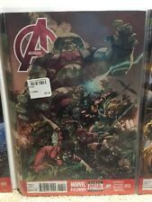 Avengers #13 Hickman Spencer Deodato Comic Book